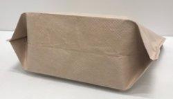 画像3: クラフト紙保冷バッグ 不織布タイプ おしゃれなクラフト色の保冷袋 小判抜き Mサイズ 格安販売