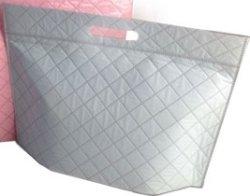 画像2: キルティング調でおしゃれな保冷袋・クーラーバッグ プレミアムシリーズ 小